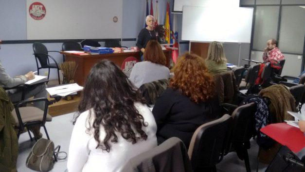 """FeSMC-UGT Cantabria imparte el curso de formación sindical """"Funciones de los representantes de los trabajadores. Conoce UGT principios y organización"""""""