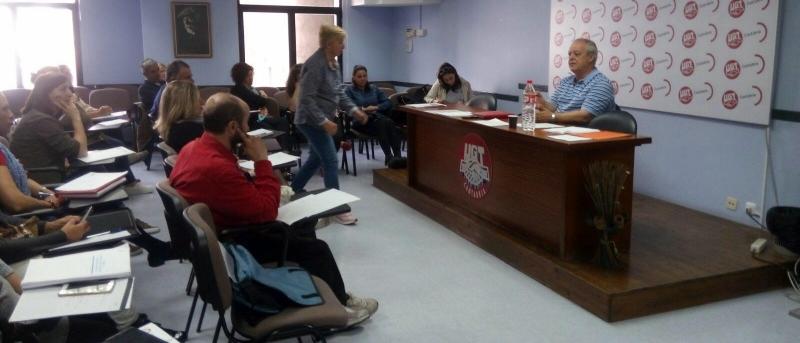 Nuevo curso de formación sindical de FESMC-UGT Cantabria