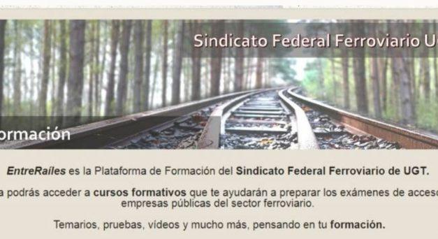 La plataforma «EntreRaíles» ultima los cursos para las convocatorias de ADIF